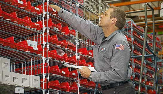 Pengate's comprehensive warehouse storage solutions and storage systems include industrial shelving configurations.