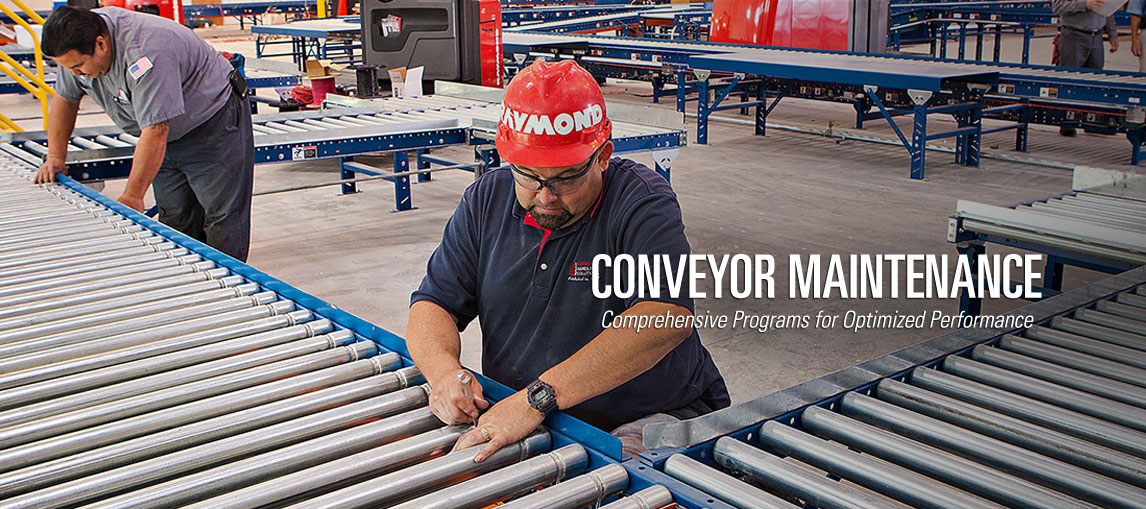 Comprehensive conveyor maintenance programs for optimized conveyor system performance
