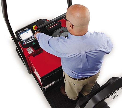 Raymond Courier Automated Lift Truck Programming a Route