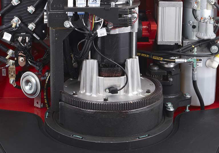 Raymond 8410 Pallet Truck AC motor system