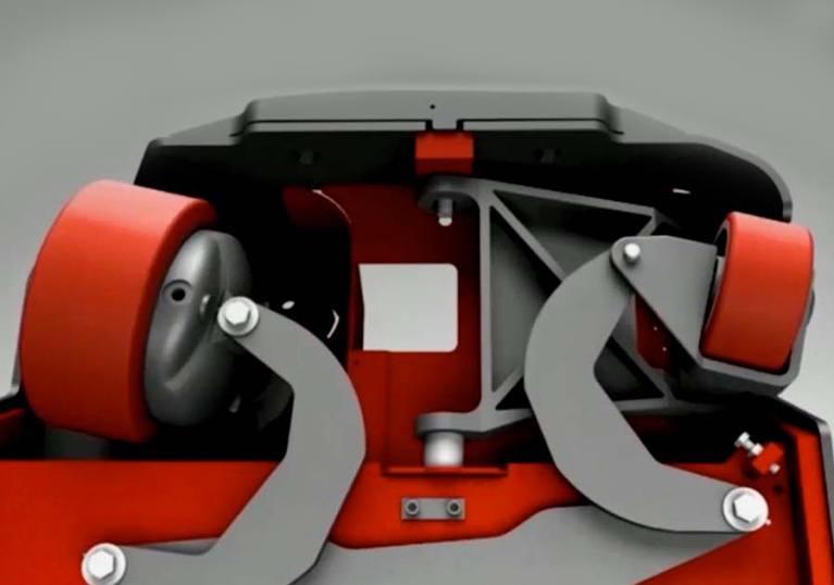 Steered Idler Design
