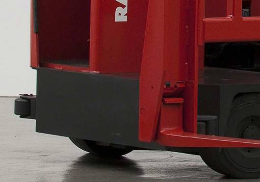 Raymond Sideloader Double Rail Guide Rollers