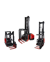 Raymond 9000 Series Swing Reach Truck Family