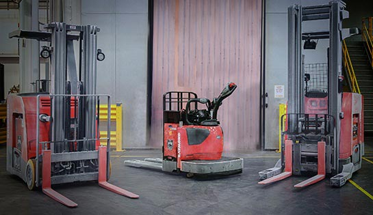 Raymond Cold Storage Equipped Lift Trucks