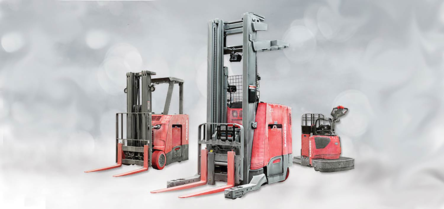 Raymond cold storage lift trucks