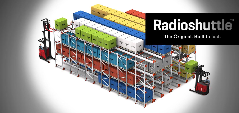 Raymond Radioshuttle Pallet Shuttle System